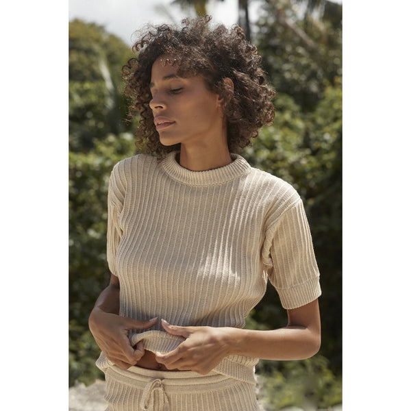 Pamela Knit Tee | Women's Clothing Boutique