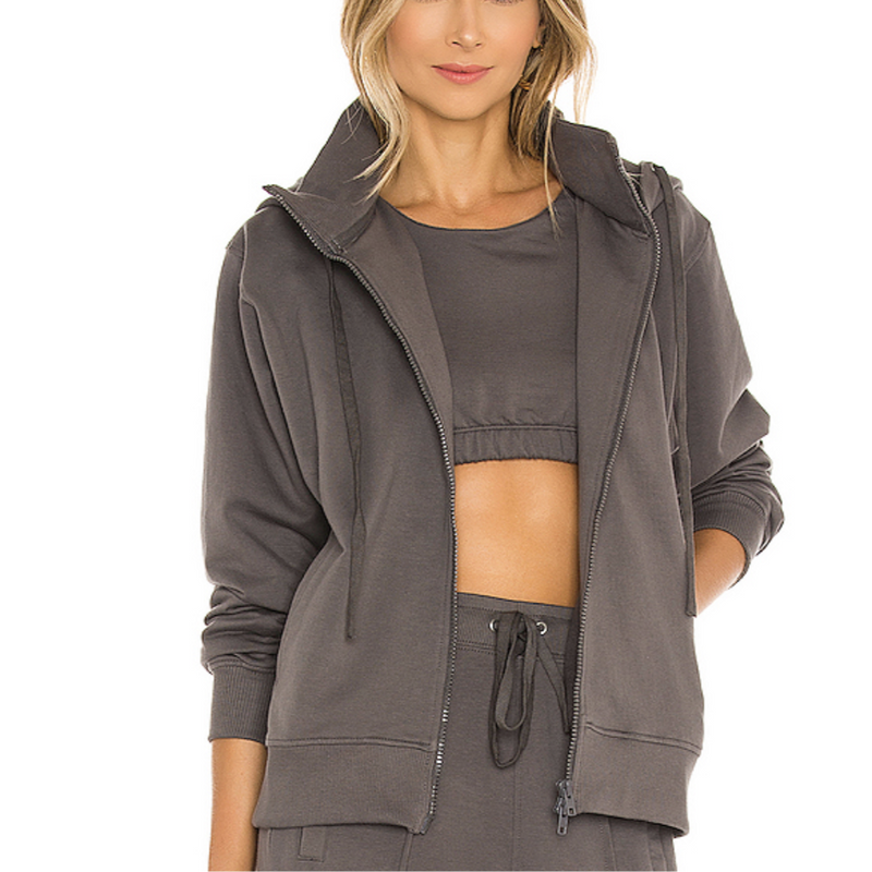 French Terry Zip Up Hoodie | Women's Clothing Boutique