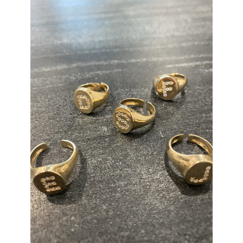 Letter Rings | Women's Clothing Boutique