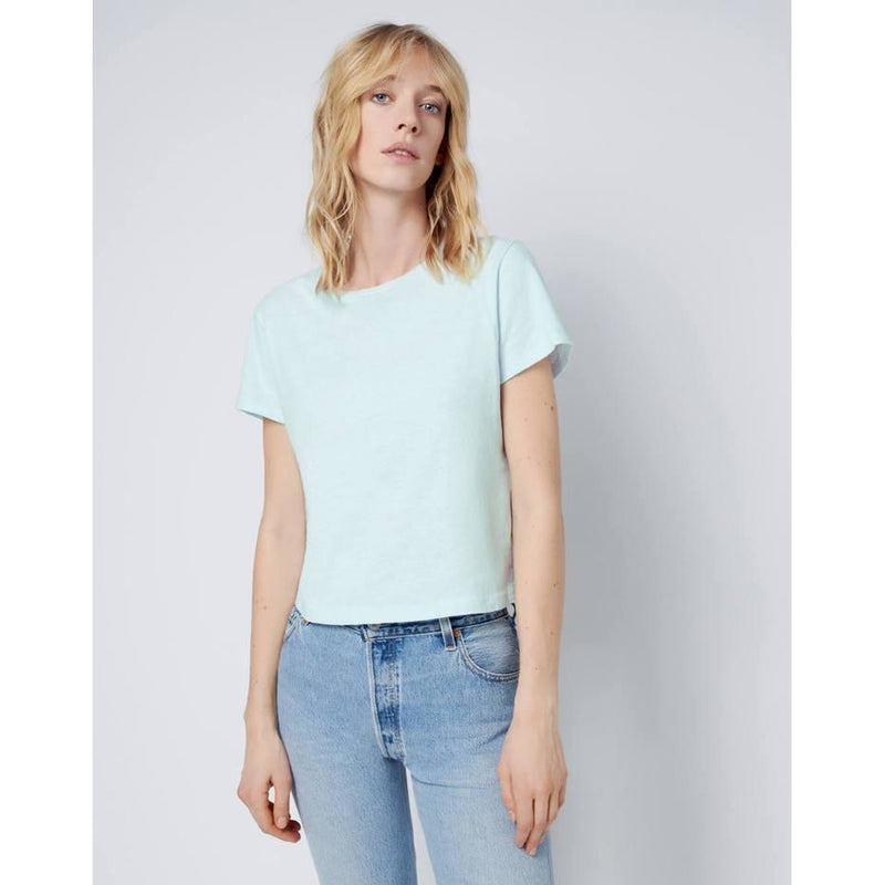 Classic tee pale blue