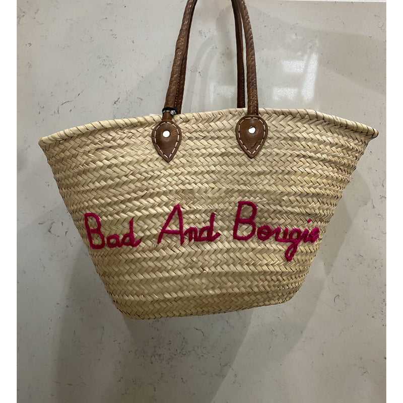 Bad and Bougie Beach Bag