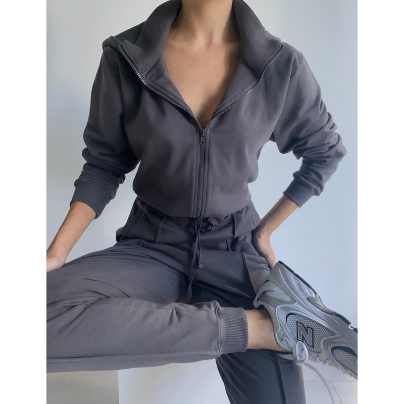 French Terry Jumpsuit | Women's Clothing Boutique