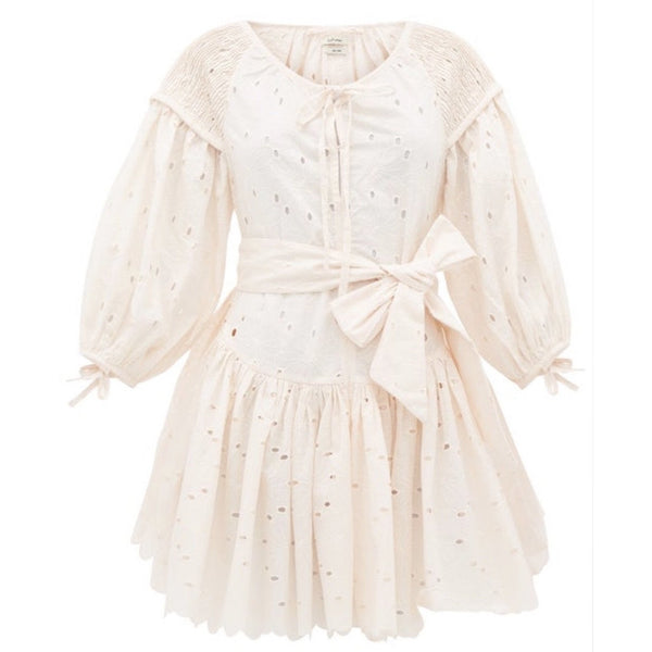 Mini Frill Dress