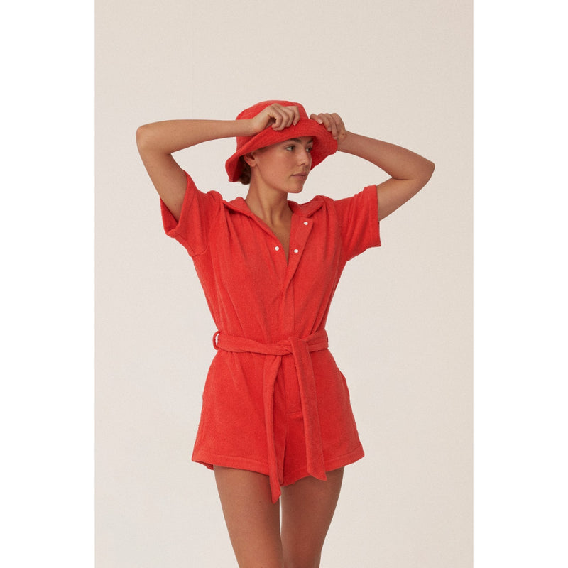 IL PAREO JUMPSUIT - ROSSO