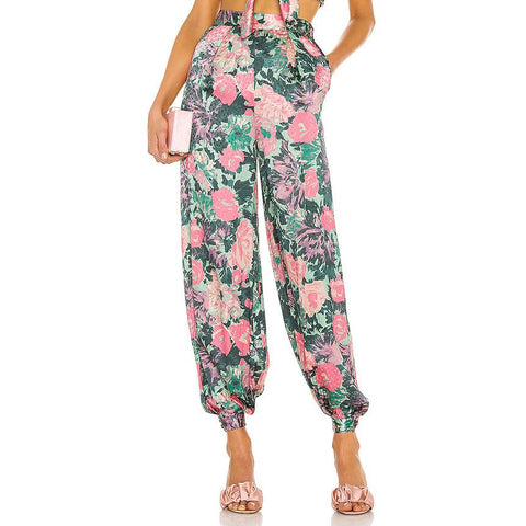 Alex Cotton crepe jumpsuit
