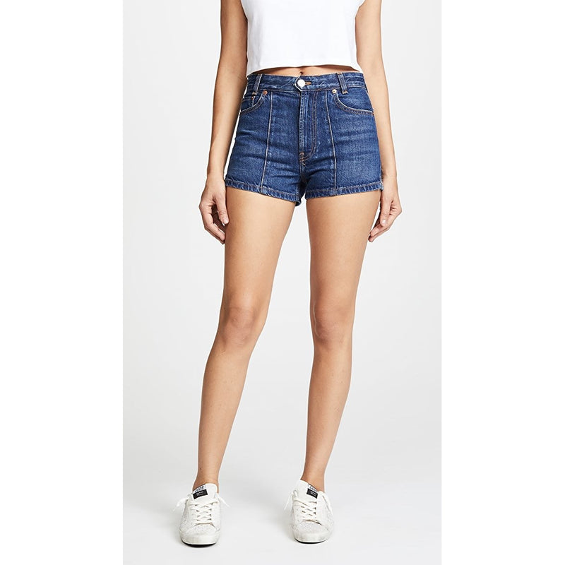 High Darted Shorts