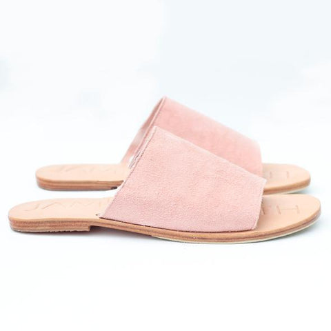 Kala pointy toe slides
