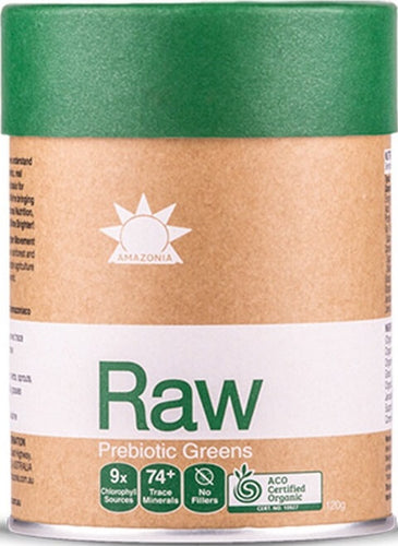 Amazonia Raw Prebiotic Nutrients Greens 300gm