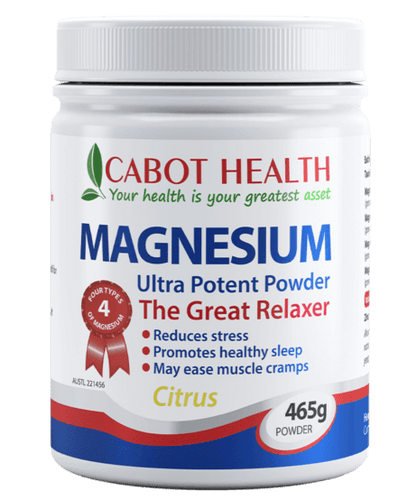 Cabot Health Magnesium Powder 200g