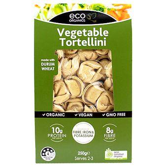 Eco Organics Vegetable Tortellini 250g