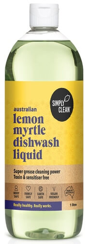 Simpy Clean Lemon Myrtle Dishwashing Liquid 1L