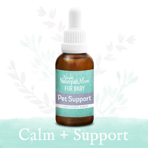 Naughty Naturopath Mum Flower Essences - Pet Support