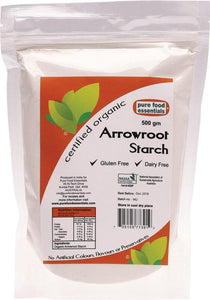 Pure Food Essentials Arrowroot Starch 500g