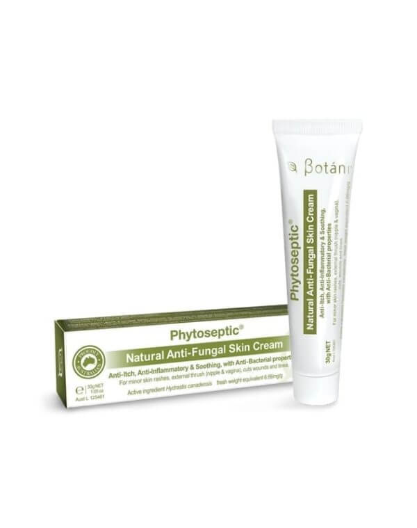 Botani Phytoseptic Natural Anti Fungal Skin Cream 30g