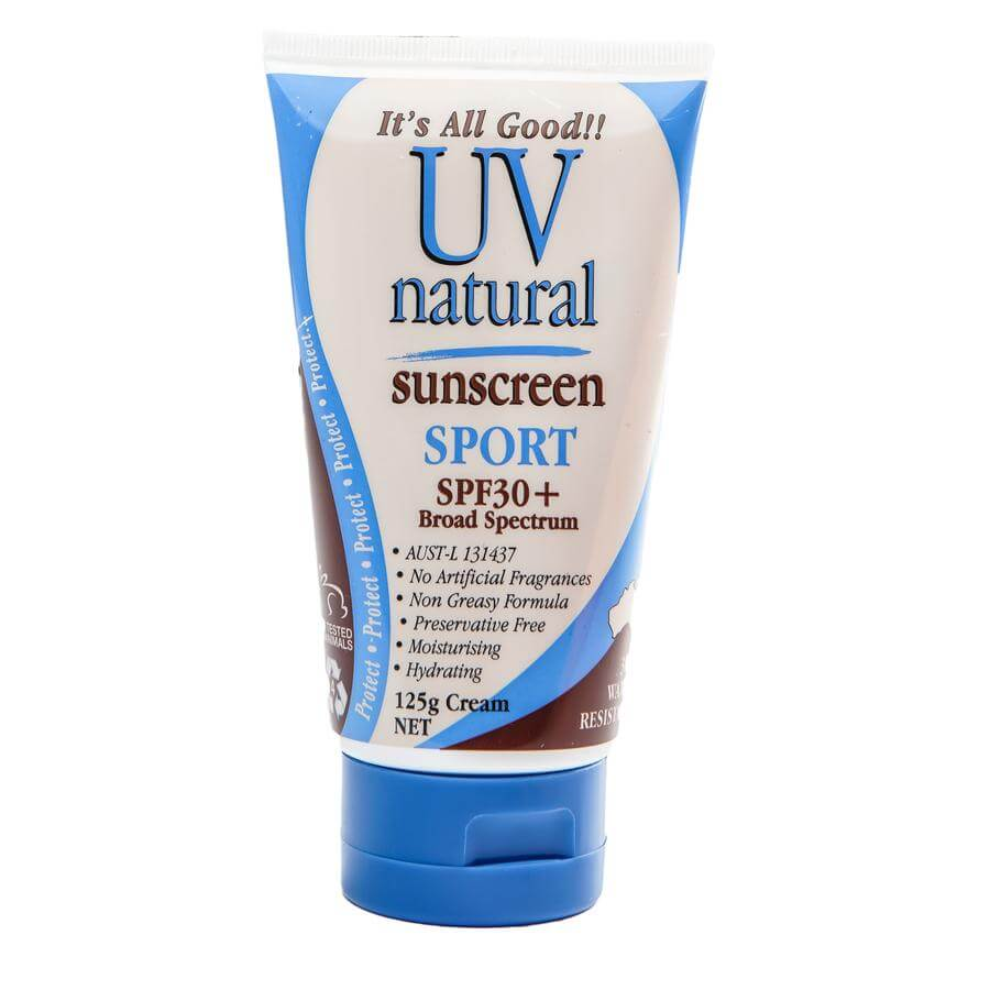 UV Natural Sunscreen Sport SPF30+ 125g