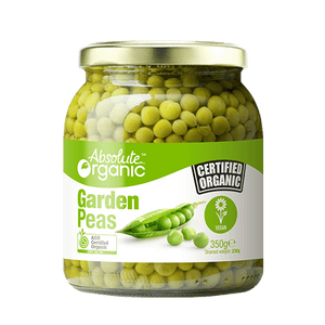 Absolute Organic Garden Peas 350gm