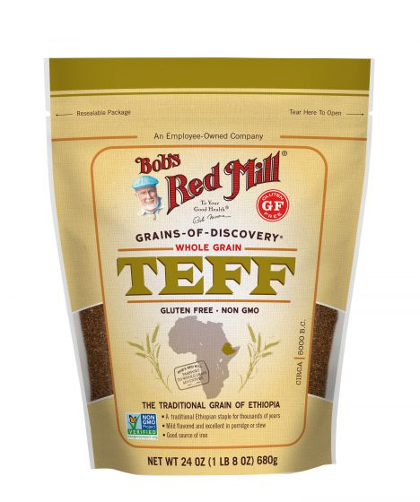 Bob's Red Mill Whole Grain Teff Flour 680g