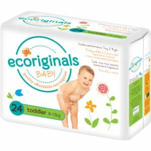Ecoriginals Baby Newborn plus 4-6 kgs 32 Nappies
