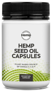 Essential Hemp Hemp Seed Oil Capsules 100 softgel caps