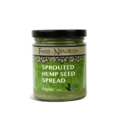 Food to Nourish Sprouted Hemp Seed Spread 225gm