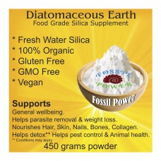 Fossil Power Diatomaceous Earth 450g