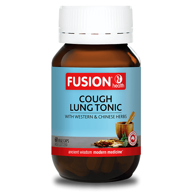 Fusion Health Cough Lung Tonic 60 Capsules