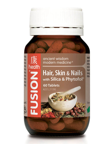 Fusion Health Hair, Skin and Nails tablets - 60