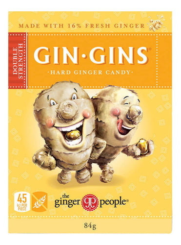 The Ginger People Gin Gins Double Strength 84g