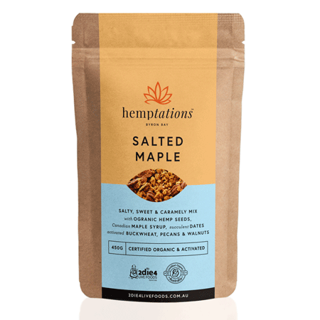 Hemptations Salted Maple 200g