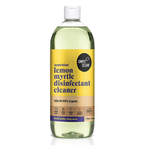 Simply Clean Lemon Myrtle Disinfectant Cleaner 1L