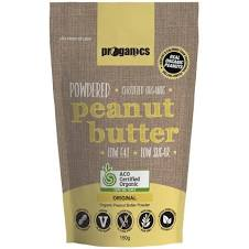 Proganics Powdered Peanut Butter Original 150g