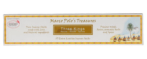Marco Polo's Treasures Three Kings Extra Quality Incense Sticks - pack of 10