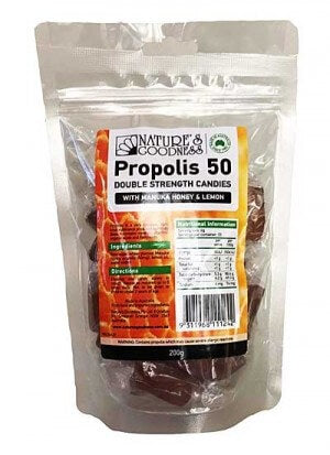 Nature's Goodness Propolis 50 Double Strength Candies 200g