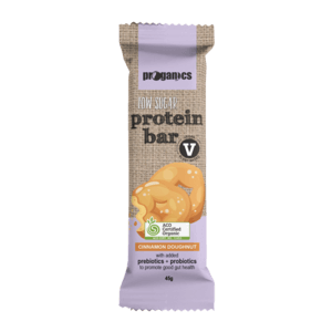 Proganics Low Sugar Protein Bar - Cinnamon Doughnut 45g