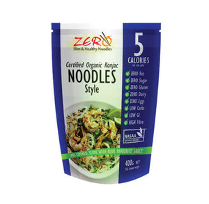 Zero Slim and Healthy Konjac Noodles Style 400g