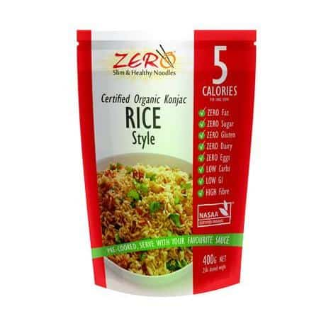 Zero Slim and Healthy Konjac Rice Style 400g