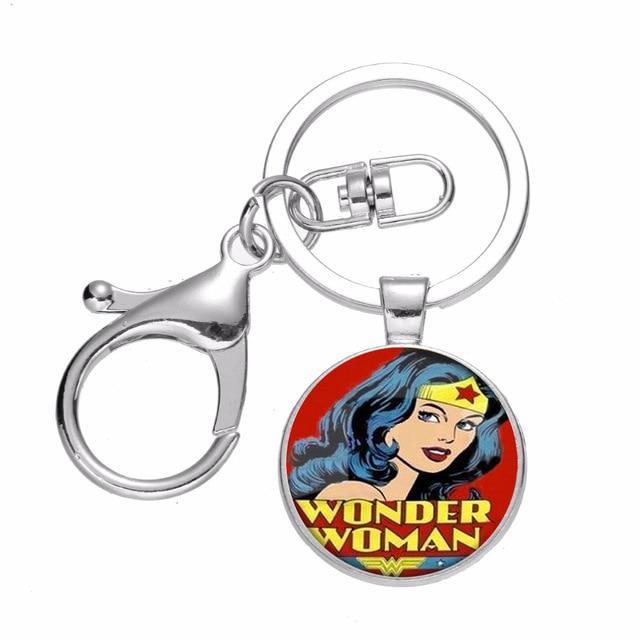 Wonder Woman Figural Keychain Key Chain Keyring New