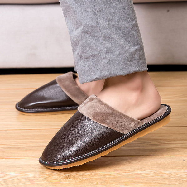 Women Snow Fur Warm Home Slippers Loafers Casual Shoes