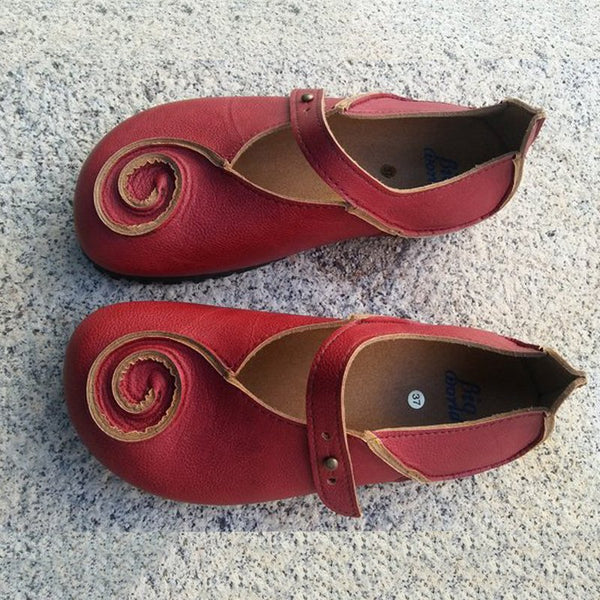 Red Daily Summer Flats