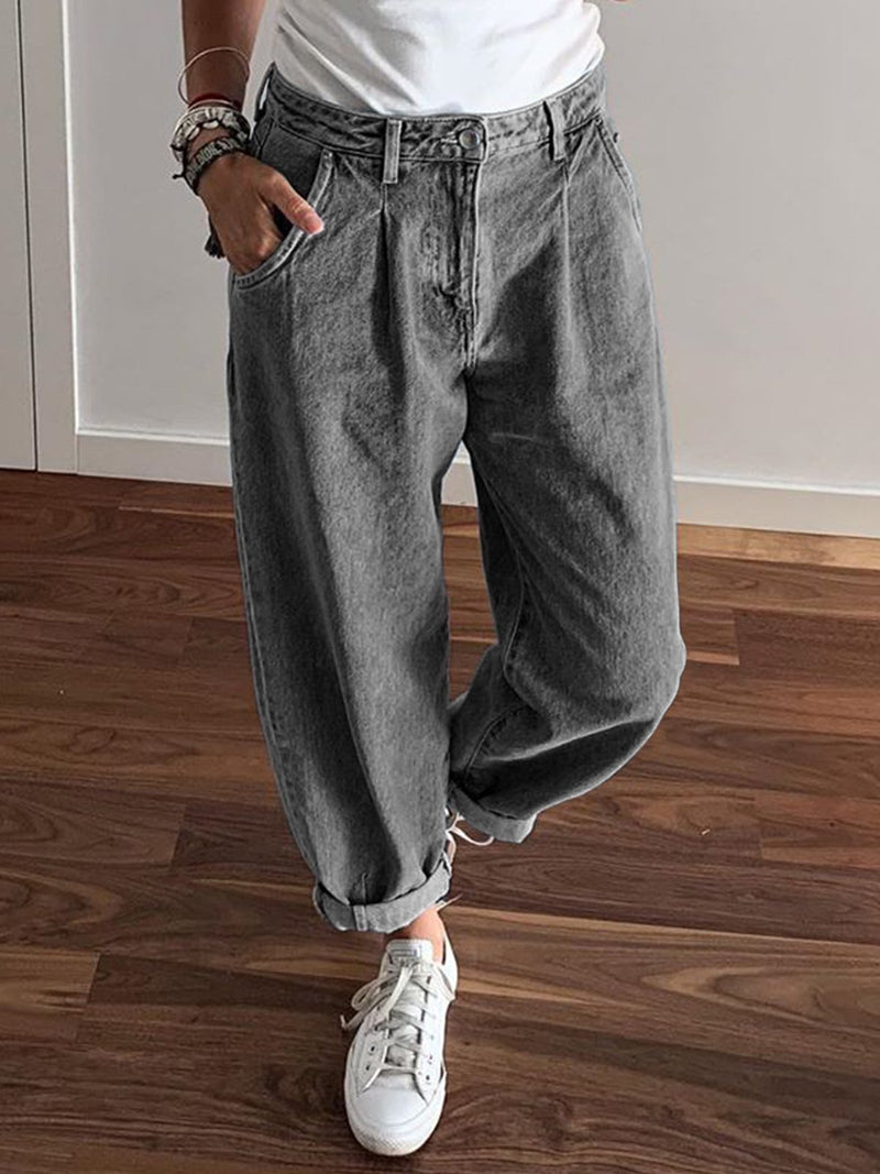 Casual Denim Pants