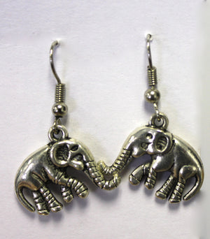 Open image in slideshow, Elephant Earrings - Neetu variety