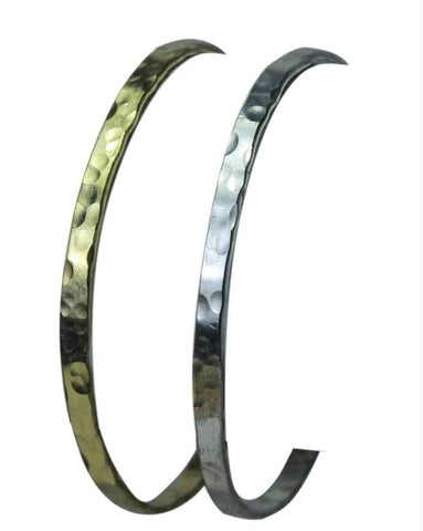 Hammered Chandi Bangle