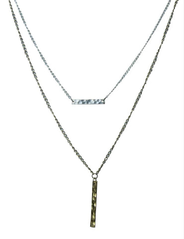 Hammered Chandi Necklace