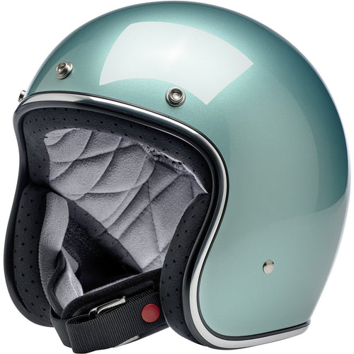 Bonanza Helmet - Metallic sea foam
