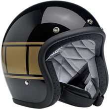 Load image into Gallery viewer, Bonanza Helmet - Gloss black holeshot