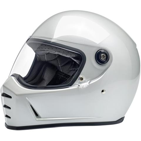 Lane Splitter Helmet - Metallic Pearl White