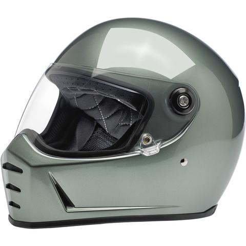 Lane Splitter Helmet - Metallic Olive