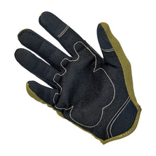 Load image into Gallery viewer, Biltwell Moto Gloves - OLIVE/BLACK/TAN