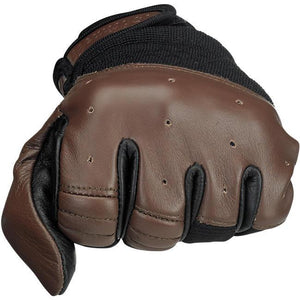 Bantam Gloves - Chocolate/Black