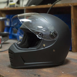 Lane Splitter Helmet - Flat Black